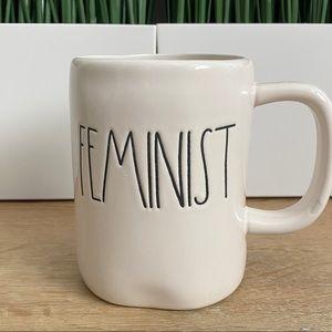 RAE DUNN Feminist Mug Ivory